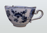 White china teacup