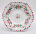 Cookie Plate Featuring Indian Rose Pattern