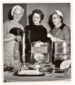 Clara Wolf, Margaret Schaefer, and Clara Heidenreich, 1961.