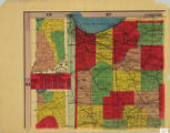 Bridgman's new sectional and township map of Indiana from the latest official and other authentic...