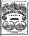 The farmers and mechanics almanack, for the year of our Lord 1833...