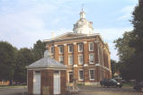 Switzerland County Courthouse and privy, 2003 (Vevay, Ind.)