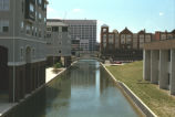 Central Canal with apartments, n.d. (Indianapolis, Ind.)