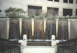 Fountain along Central Canal, 1994 (Indianapolis, Ind.)
