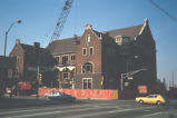 Demolition of Maennerchor Building, 502 North Illinois Street, c1975 (Indianapolis, Ind.)