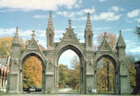 Entrance gates, Crown Hill Cemetery, n.d. (Indianapolis, Ind.)
