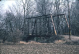 Bridge, 700 North over Sugar Creek, 1983 (Boone County, Ind.)
