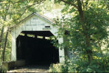 State Sanatorium Covered Bridge, over Little Raccoon Creek, 1998 (Parke County, Ind.)