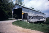 Ferree Covered Bridge, Base Road, 1987 (Rush County, Ind.)