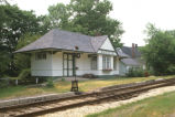 New Augusta Railroad Depot, 7135 Purdy Street, 1984 (Indianapolis, Ind.)