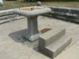 Drinking fountain, 112 East Main Street, 7/2007 (Winamac, Ind)