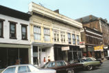 Commercial Buildings, 300 block Second Street, 1982 (Aurora, Ind.)