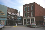 Commercial buildings, Courthouse Square, 1977 (Jasper, Ind.)
