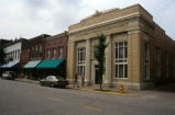 Commercial buildings, Fourth Street, c1998 (Huntingburg, Ind.)