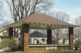Newtown Bandstand, Washington Street, c1988 (Newtown, Ind.)