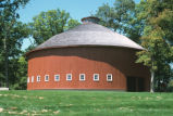 John Haimbaugh Round Barn, State Road 25, 2003 (Fulton County, Ind.)