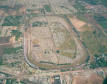 A Bird's Eye View of the Motor Speedway, 1961