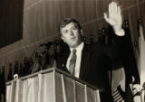 Dan Quayle speaking at American Red Cross National Convention, 1986