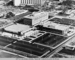 Aerial of IUPUI Looking NW, 1972-73.