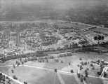 Aerial of Medical Center Looking S, ca. 1953.
