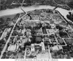 Aerial of Medical Center Looking W, 1955.