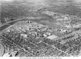 Aerial of Medical Center Looking NW, 1958.