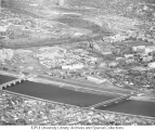 Aerial of Medical Center Looking NE, 1959-60.