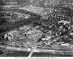 Aerial of Medical Center Looking NE, 1958.