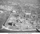 Aerial of Medical Center Looking E, 1958-59.