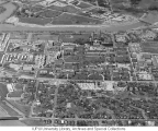 Aerial of Medical Center Looking N, 1961-62.