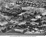 Aerial of Medical Center Looking NE, 1965.