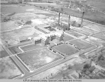 Aerial of IUPUI Looking NW, ca. 1932.