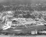 Aerial of Medical Center Looking E, 1950.