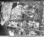 Aerial of Medical Center Directly Overhead, 1950.