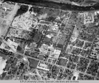 Aerial of Medical Center Looking NW, 1950.