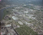 Aerial of IUPUI Looking NW, 1976.