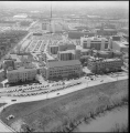 Aerial of IUPUI Looking S, 1980.