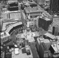 Aerial of Downtown Indianapolis Looking N, 1984.