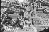 Aerial of IUPUI Looking S, 1984.