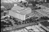 Aerial of Indiana University Hospital Looking NE, 1984.