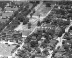 Aerial of Medical Center Looking NW, ca. 1949.