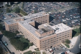Aerial of Cancer Research Institute Looking NE, 1985.