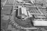 Aerial of Natatorium Looking N, 1986.