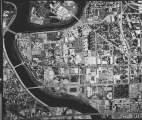 Aerial of IUPUI Directly Overhead, 1986.
