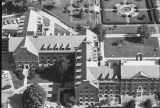 Aerial of Ball Residence Hall Looking N, 1986.