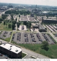 Aerial of IUPUI Looking S, 1990.