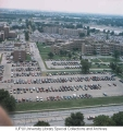 Aerial of IUPUI Looking S, 1992.