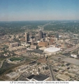 Aerial of Downtown Indianapolis Looking NE, 1996.