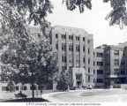 Clinical Building Exterior, ca. 1964.