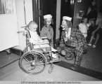 Clowns at Riley Hospital, 1969.